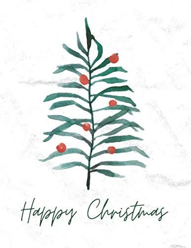 Weihnachtsplaner - Happy Christmas (Weihnachtsbaum Abstrakt): Der Festtags Party Organizer beinhaltet wöchentliche Kalender, Erlebnis- und ... Einkaufs- und Aufgabenlisten sowie Notizen