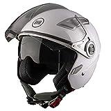Zoom IMG-1 bhr 93318 casco doppia visiera