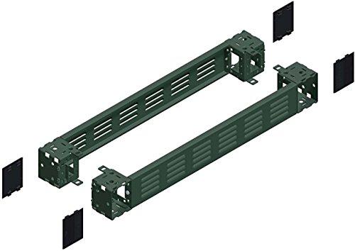 Schneider NSYSPFV8100 Spacial SF/SM-Sockel-Seitenteile mit Lüftungsschlitzen, 100x800x800mm