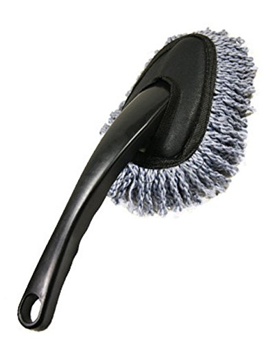 Kit de cepillos de microfibra multifunción suaves, ligeros, lavables para limpieza del coche, la casa, la cocina o el ordenador