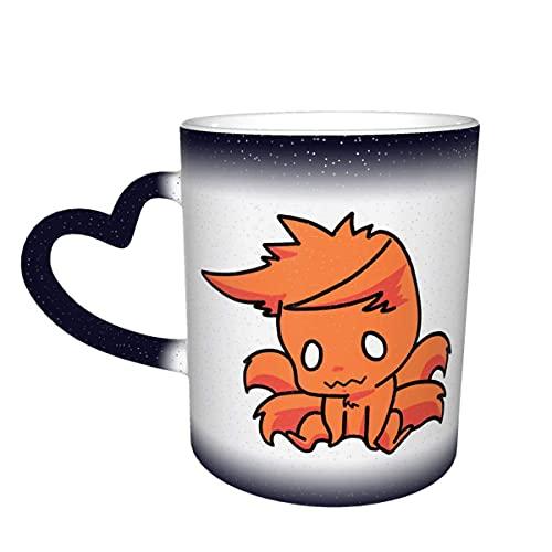 Hirola Tazas de café Kurama NARUT O sensible al calor tazas mágicas