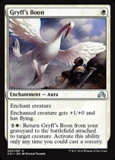 Magic: the Gathering Gryff39;s Boon (020/297) - Shadows Over Innistrad