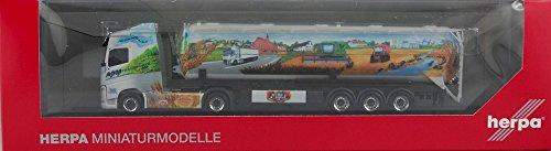 Herpa 121712 Volvo FH Gl. Câble de Selle Silo ASM Transporte, Véhicules Miniatures