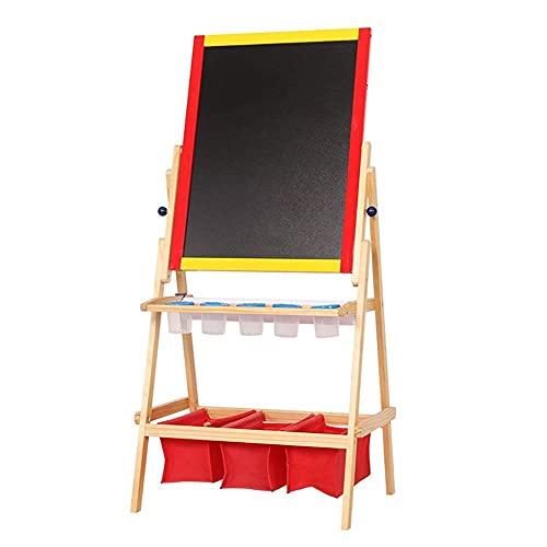 Caballete de Mesa de Pintura, Soporte de Pintura para niños, Pantalla de Madera Maciza, Bloc de Dibujo para bebés, Tablero de Escritura, Rompecabezas de 3-13 años, Juguete para niños
