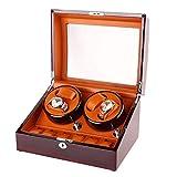 ZCYXQR Automatischer Uhrenbeweger, Haushaltsuhren Display Aufbewahrungsbox Motor Box Shaker Maschine 4-Fach Gehäuse Mechanisch WristRotate Box 100240V Reparaturwerkzeug für Uhrmacher