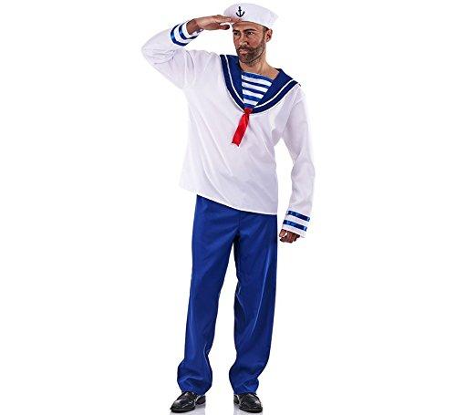 Disfraz de Marinero a Rayas para hombre