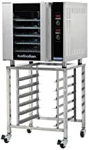 Moffat E32D5/2C Turbofan Electric Double Stacked Full Size Convection Oven With Casters & Digital Controls