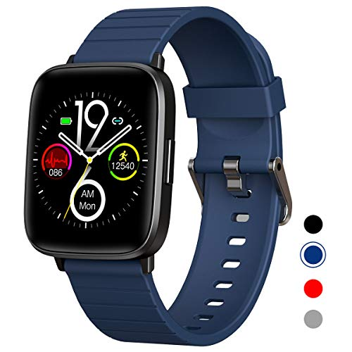 Mgaolo Fitness Tracker Smart Watch with Blood Pressure Heart Rate Sleep Monitor for Men and Women,Touch Screen...