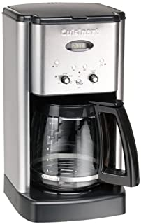Cuisinart DCC-1200FR Brew Central 12-Cup Coffeemaker, Brushed Stainless Steel (Renewed)