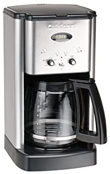 Cuisinart DCC-1200FR Brew Central 12-Cup Coffeemaker Brushed Stainless Steel  Renewed
