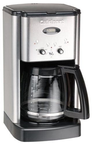 Cuisinart DCC-1200FR Brew Central 12-Cup Coffeemaker, Brushed Stainless Steel...