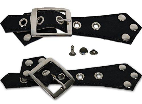 MDM Schulter Schnallen für Lederwesten zum nachrüsten (8)