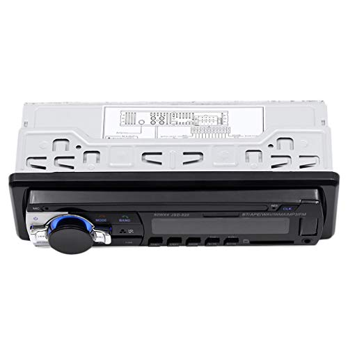 balikha Radio de Coche Bluetooth Reproductor de Mp3 FM TF USB AUX en La Sangría JSD-520