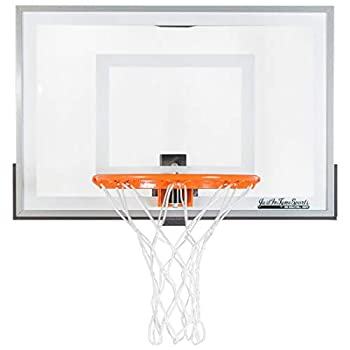 JustInTymeSports Wall Mounted Mini Basketball Hoop -Mini Pro 2.0