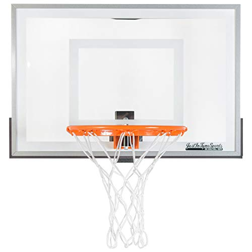 JustInTymeSports Wall Mounted Mini Basketball Hoop -Mini Pro 2.0