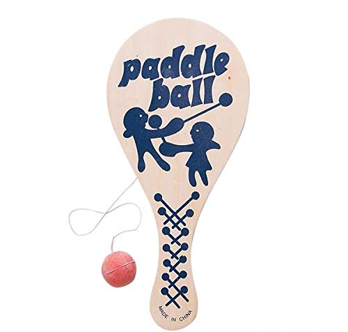 Rhode Island Novelty 9 Inch Paddle Ball, One per Order