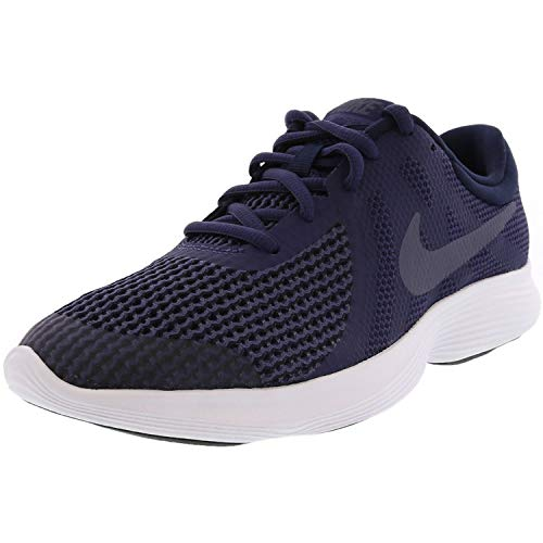 Nike Unisex-Erwachsene Revolution 4 (GS) Laufschuhe, Mehrfarbig (Indigo 001), 40 EU