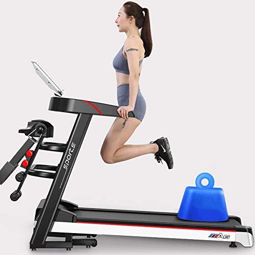 Cinta de correr eléctrica AZZ, Technogym, 12 ajustes de velocidad, pantalla LCD, superficie de rodadura, rueda de desplazamiento, deporte familiar