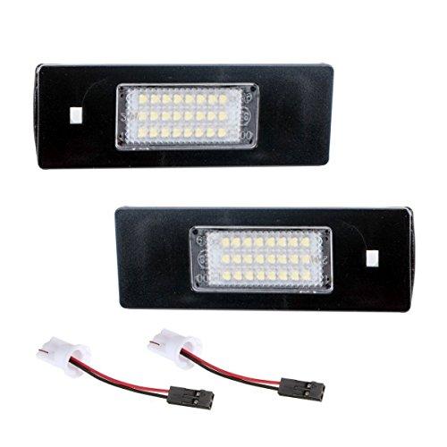 akhan kb16z – Plaque Minéralogique à LED Modules Unité complète Plug N Play Convient pour BMW E64, E64 N, E81 E87, E87 N E85 E86 E82, E88, E90, E90 N, E91 E92 E93 M3