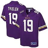 NFL PRO LINE Men's Adam Thielen Purple Minnesota Vikings Player Jersey
