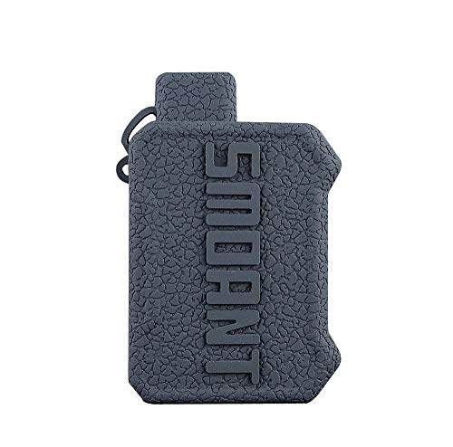 DSC-Mart Texture Cover for Smoant Battlestar Baby Silicone Case Sleeve Skin (Black)