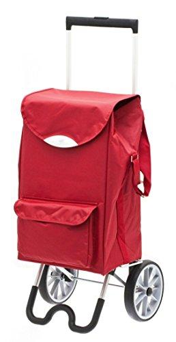 Stock-Fachmann Einkaufswagen Einkaufstrolley Einkaufsroller Einkaufshilfe Senioren faltbar abnehmbare Tasche bis 35 kg belastbar