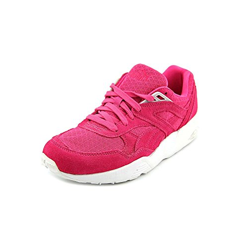 PUMA Mens Sneakers Size 10 M 35746502 R698 Mesh Evolution Beet Leather Purple