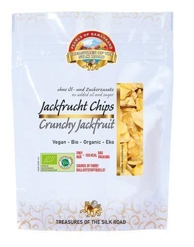 Chips de Jackfruit Fruta de Jacka Bio 7x35g Yaca ecológica orgánica 100% natural,...