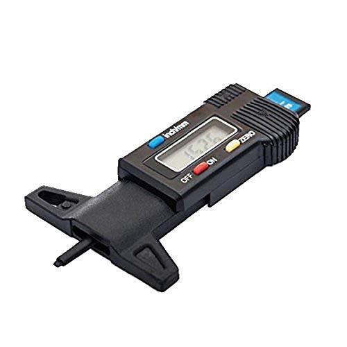 リタプロショップ? デジタル デプスゲージ 車 タイヤ溝 測定 0-25mm