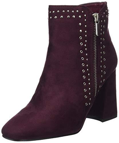 XTI 30910, Botines Mujer, Morado (Burdeos Burdeos), 37 EU (Zapatos)