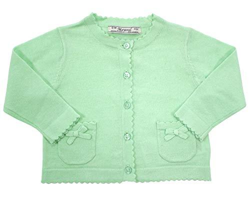 Mayoral Mädchen Baby-Strickjacke Mint-grün, Gr. 80 (80)