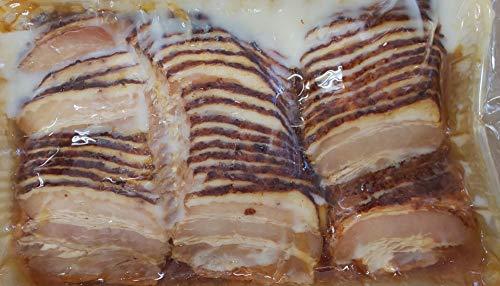 炙り焼き チャーシュー スライス ( トレー 入り ) 500g 冷凍 業務用 叉焼
