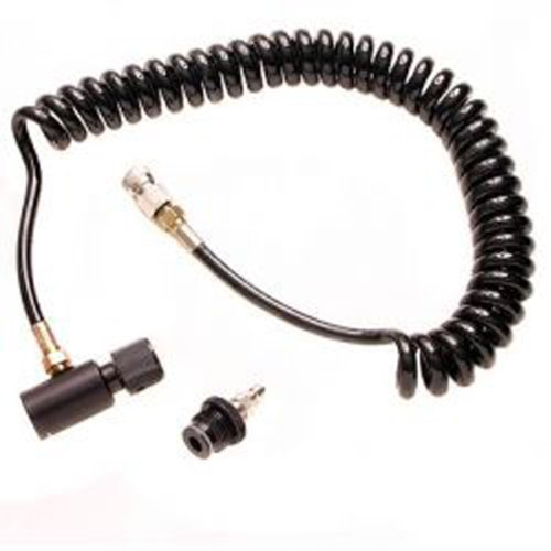 Spyder Paintball Remote Air Supply Hose Coil with Quick Disconnect