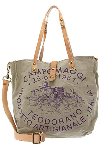 Campomaggi Shopping Bag S beige + St.Prugna