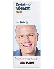 ISDIN Eryfotona AK-NMSC, Protector Solar (SPF 100+), Prevención y tratamiento protector asociado a la Queratosis Actínica (AK), Textura Fusion Fluid, 50 ml