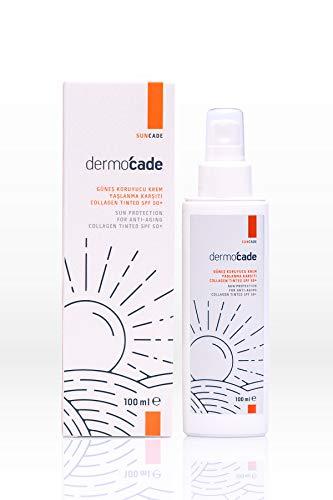 Dermocade SPF 50+ COLLAGEN TINTED Crema de protección solar