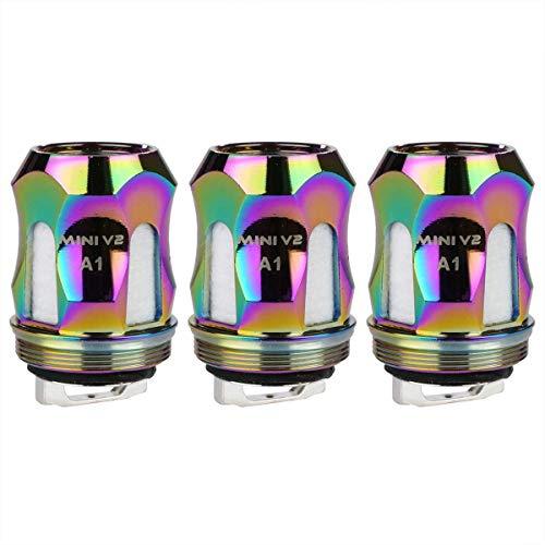 SMOK A1 Coils (0,17 Ohm), Riccardo Mesh Verdampferköpfe für e-Zigarette, 7-color (rainbow)