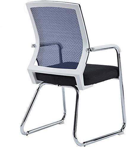 Personal Computer Chair Silla de Oficina Arco del pie ergonomía Ejecutivo/conferencias Silla de Hogares del sillón for Office Sala (Color: Verde, Tamaño: Marco Negro) SHIYUE