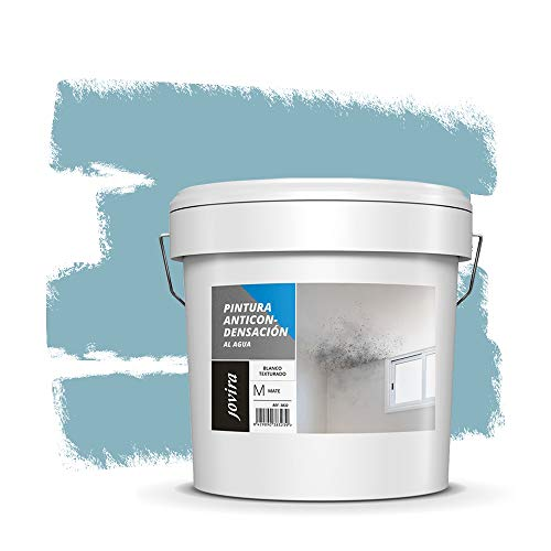 ANTICONDENSACION Antihumedad Antimoho, anti-condensacion antimoho exterior-interior. Soluciona problemas de condensación por humedad ambiental (12 L, TURQUESA)
