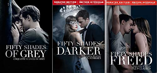 Fifty Shades DVD 3-Pack: Fifty Shades of Grey / Fifty Shades Darker / Fifty Shades Freed