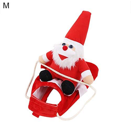 Eternitry Running Santa Halloween Navidad Disfraces De Mascotas Fiesta De Disfraces para...