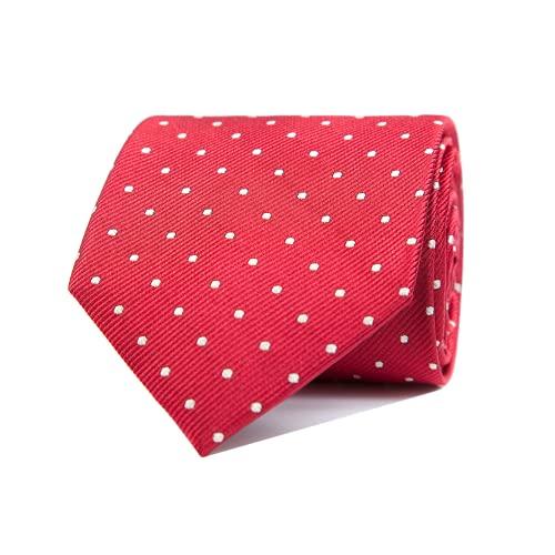 Nosologemelos - Cravate Pois - Rouge - Hommes - Taille Unique