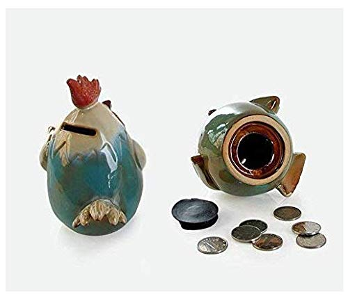 Gwill Keramik Huhn Sparbüchse Währung Sparen Geld Topf Niedlichen Tier Sparbüchse Kreative Sparschwein Geschenk Von Einrichtungs Ornament