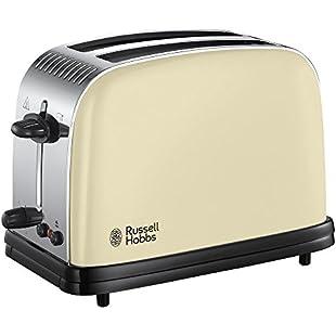 Russell Hobbs Colour Plus 2-Slice Toaster 23334 - Cream:Isfreetorrent