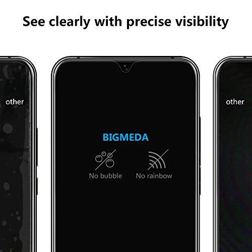 Bigmeda Schutzfolie für Huawei Mate 20, Blasenfrei, Anti-Kratzen, Anti-Öl, HD Klar Flexible Displayschutzfolie für Huawei Mate 20 Folie [3 Stück] - 6