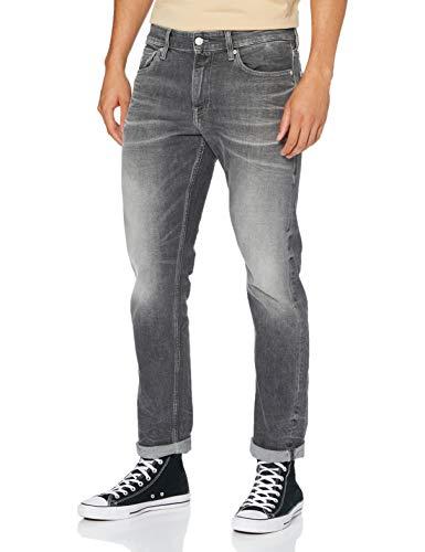 Calvin Klein Ckj 026 Slim Pantalones, Bb037/Visual Grey, 32W / 30L para Hombre