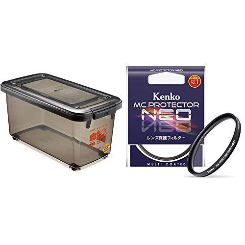 HAKUBA ドライボックスNEO 15L スモーク KMC-41 & Kenko カメラ用フィルター MC プロテクター NEO 55mm レンズ保護用 725504