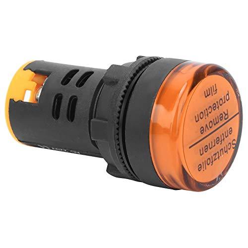 Oumefar Luz indicadora de Potencia de Llama de PC Rojo Amarillo Azul...