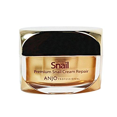 Anjo Secret nero Lumaca crema 50ml riparazione professionale viso correttore, rughe cura sbiancante.
