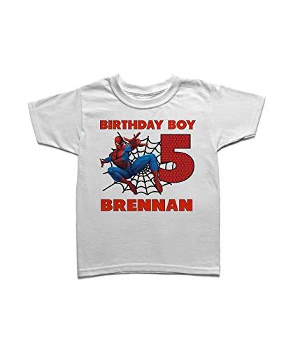 Spiderman birthday shirt family, Su…